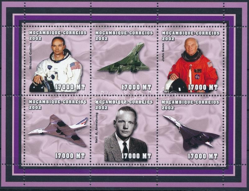 Astronauts minisheet, Űrhajósok kisív