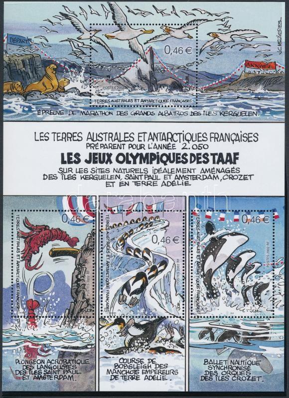 Olympic Games Antarctica block, Olimpiai játékok az Antarktiszon blokk