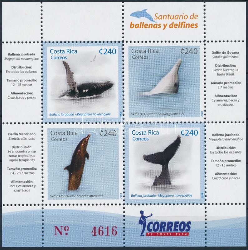 Whales and dolphins block, Bálnák és delfinek blokk