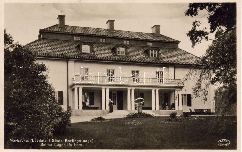 Marbacka (Lövdala i Gösta Berlings saga) Selma Lagerlöfs hem / Selma Lagerlöfs's house