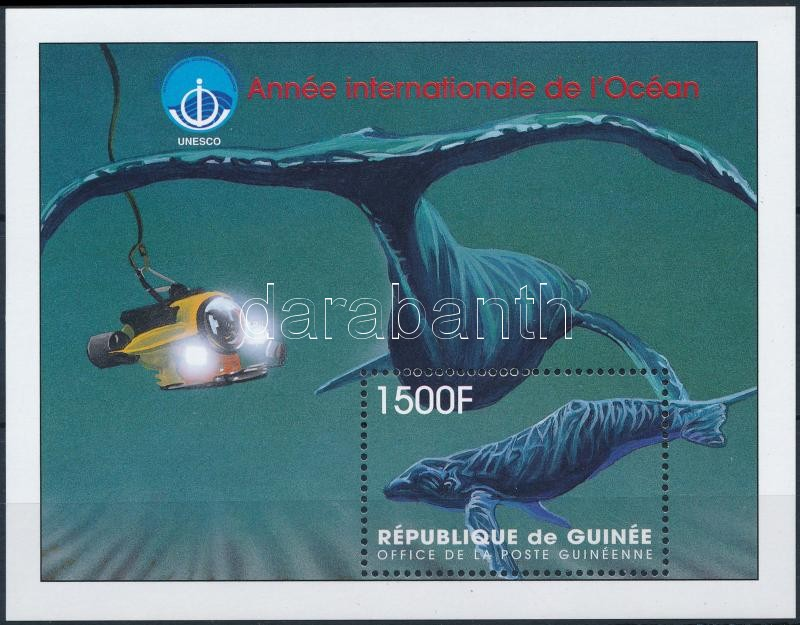 Year of the oceans; whales block, Óceánok éve; Bálnák blokk