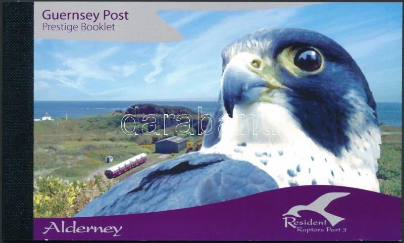 Native birds of prey stamp-booklet, Őshonos ragadozómadarak bélyegfüzet