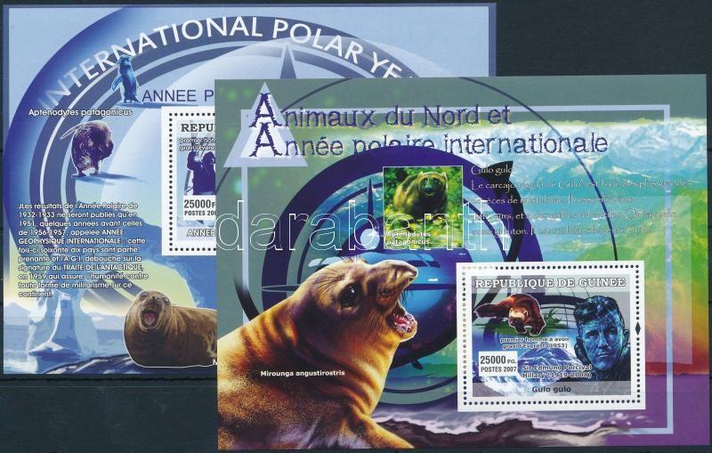 International Year of the Arctic Circle block set, Sarkkör nemzetközi éve blokksor