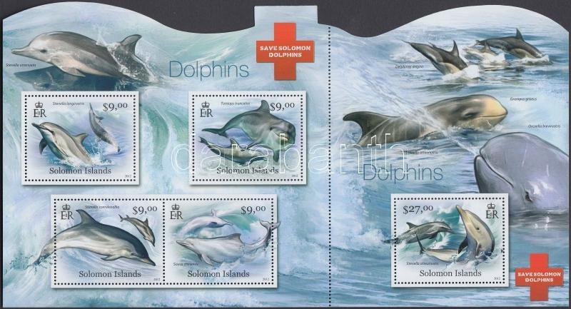 Dolphin mini sheet, Delfinek kisív