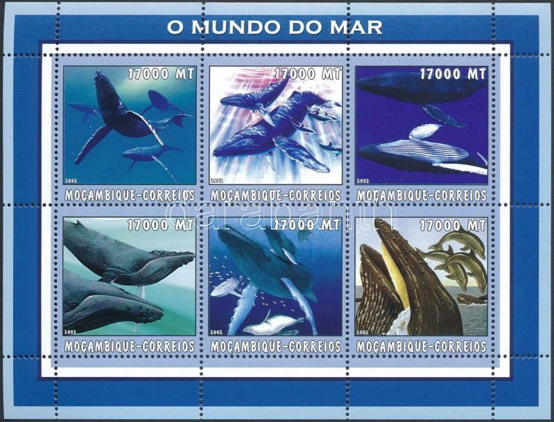 Whale mini sheet, Bálna kisív
