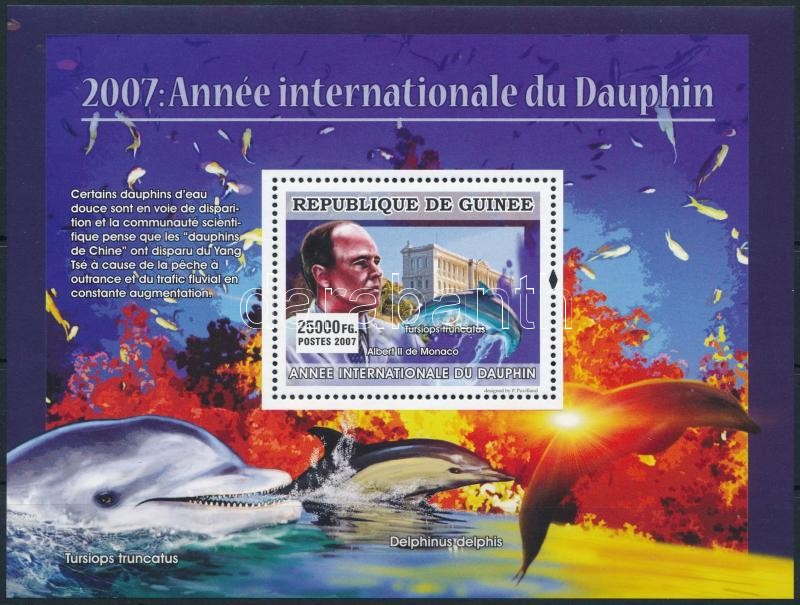 Delfinek éve; Albert herceg blokk, Dolphins years; Prince Albert block