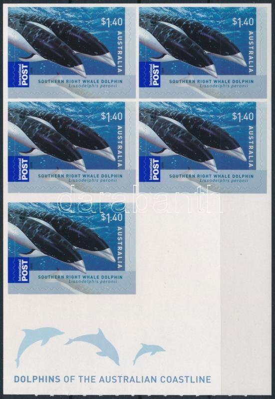Dolphin foil sheet, Delfin fólia ív
