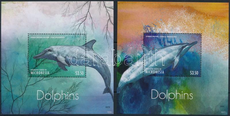 Dolphin block set, Delfin blokksor