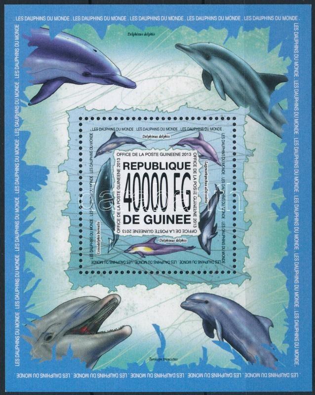 Dolphins block, Delfin blokk