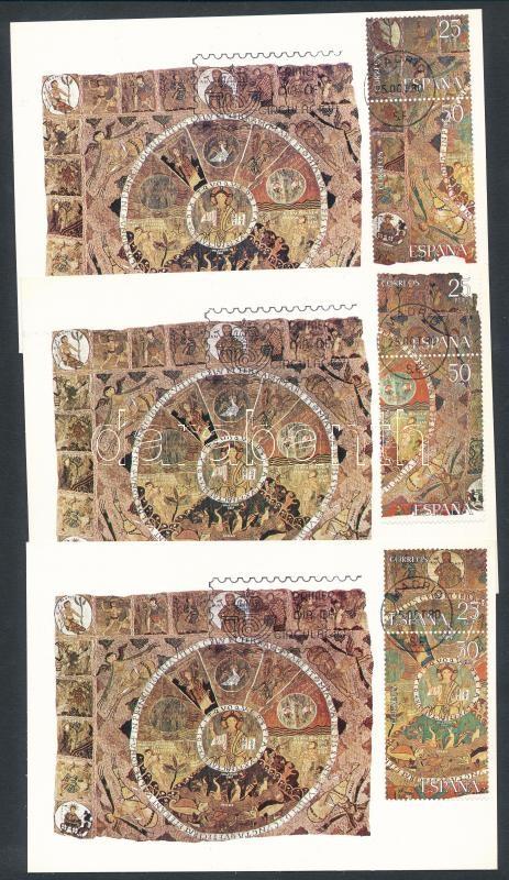 Goblen on 3 CM, Goblen blokkból kitépett bélyegek 3 db CM-en