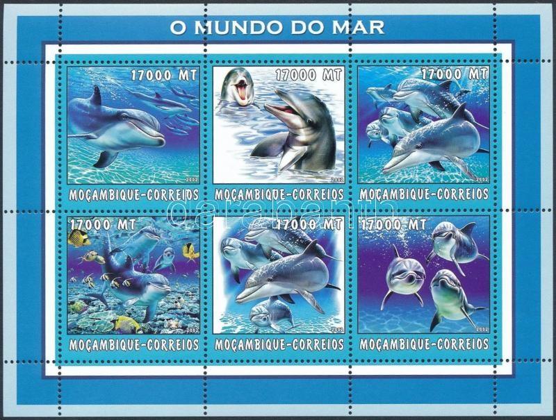 Whale mini sheet, Delfin kisív
