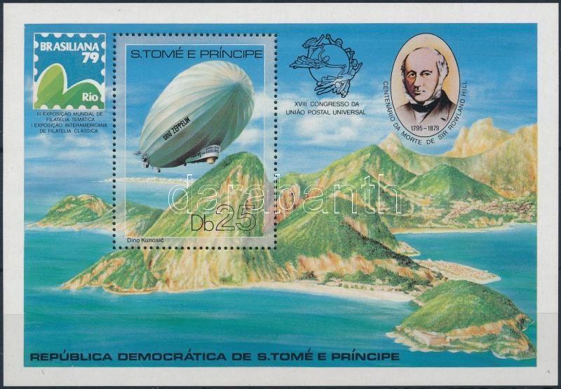 International Stamp Exhibition BRASILIANA block, Nemzetközi bélyegkiállítás, BRASILIANA blokk
