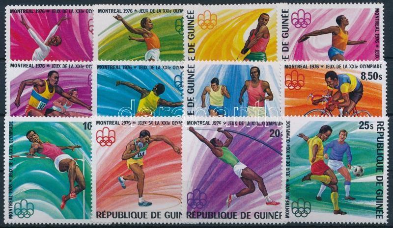 Summer Olympics, Montreal set, Nyári Olimpia, Montreal sor
