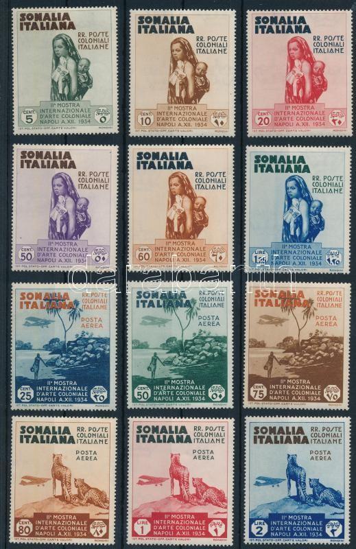 Colonial Exhibition, Naples set, Gyarmati kiállítás, Nápoly sor