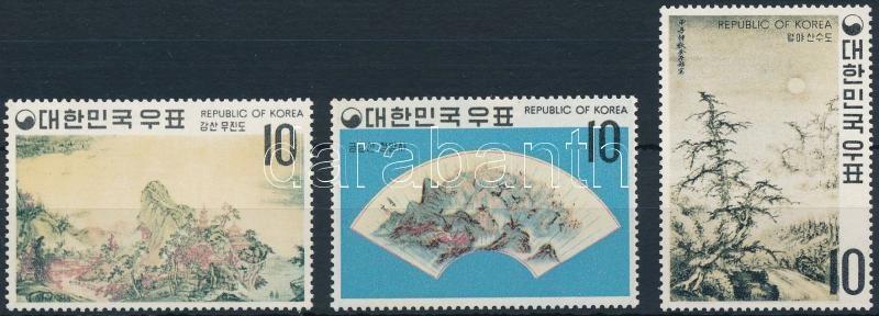 Paintings of the Yi dynasty (I): Landscapes set, Festmények a Yi-dinasztia idejéből (I.): Tájak sor