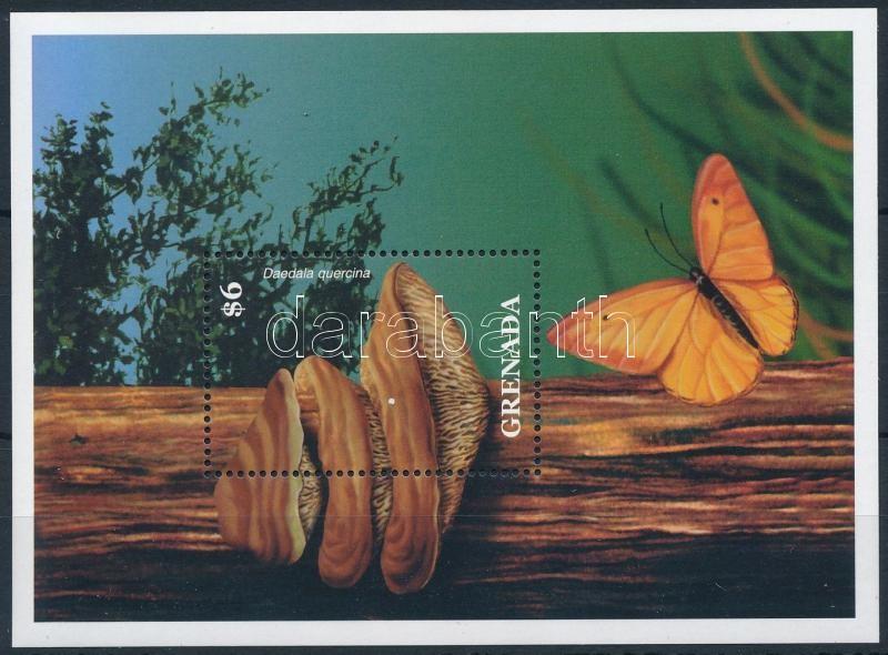 Mushrooms and butterflies block, Gomba és lepke blokk