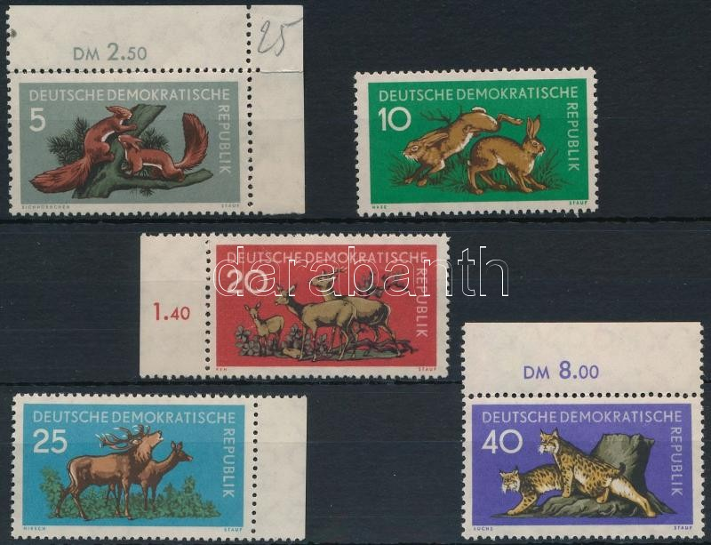 Forest animals set, Erdei állatok sor