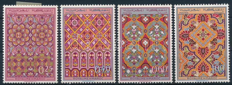 Damask tapestries set, Damaszt faliszőnyegek sor