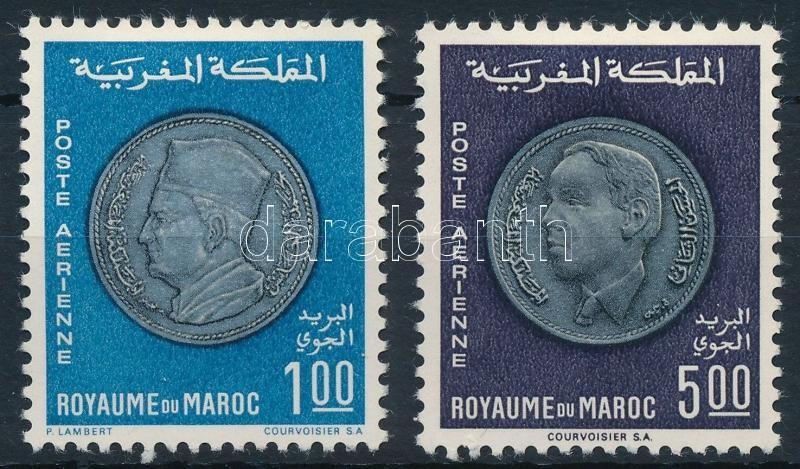 Moroccan coins set, Marokkói érmék sor