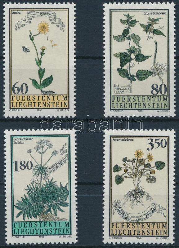Herbs set, Gyógynövények sor