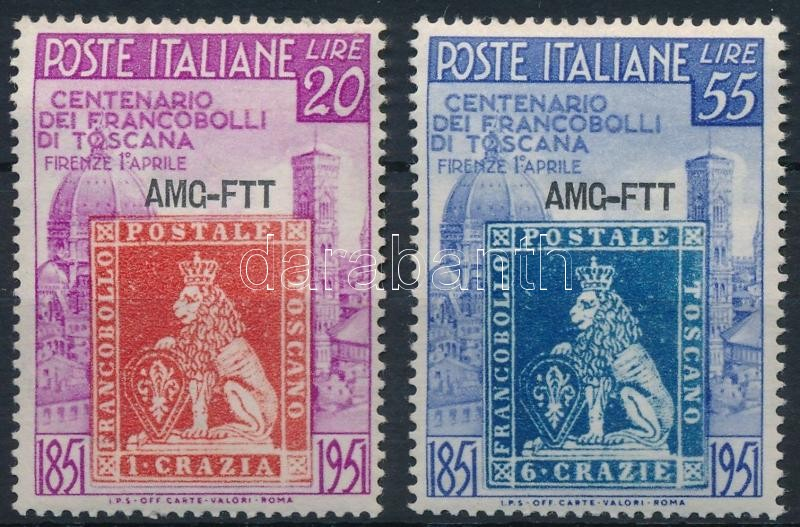 Stamp centenary, 100 éves a toscanai bélyeg
