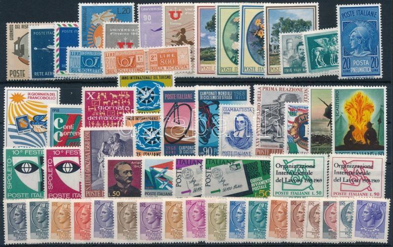1961-1969 113 klf stamps, 1961-1969 113 klf bélyeg 2 stecklapon
