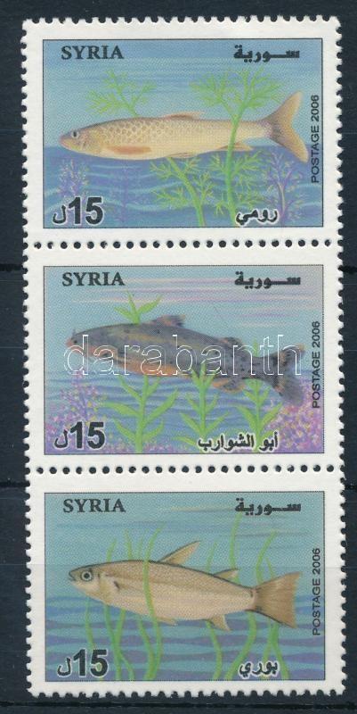 Fish set stripe of 3, Halak sor hármascsíkban