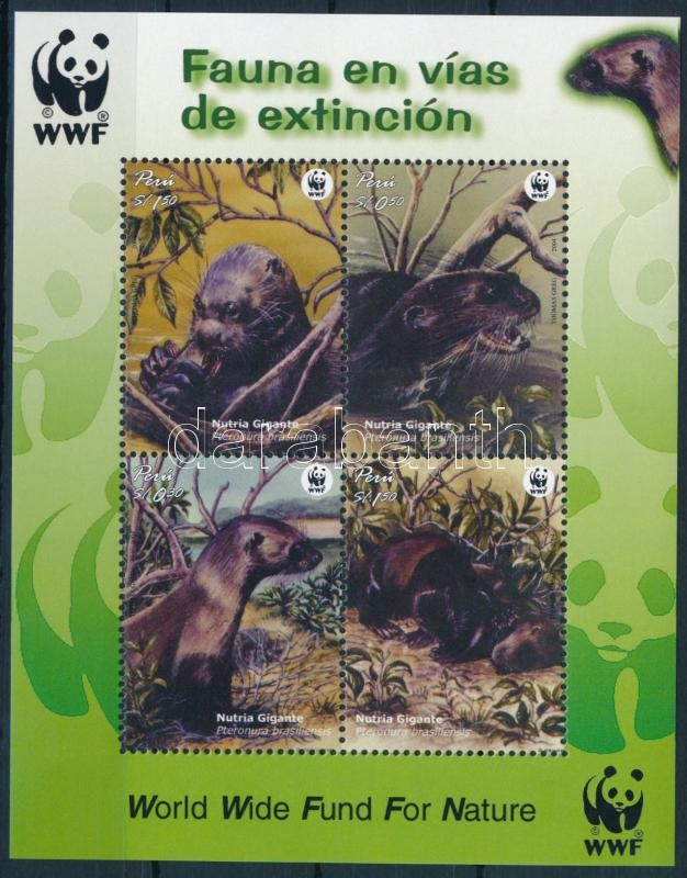 WWF Giant Otter block, WWF: Óriásvidra blokk