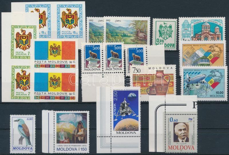 1991-1994 20 diff stamps with pairs, 1991-1994 20 db bélyeg, közte párok