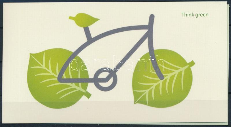 Europa CEPT, Environmental Awareness stamp-booklet, Europa CEPT, Környezettudatosság bélyegfüzet