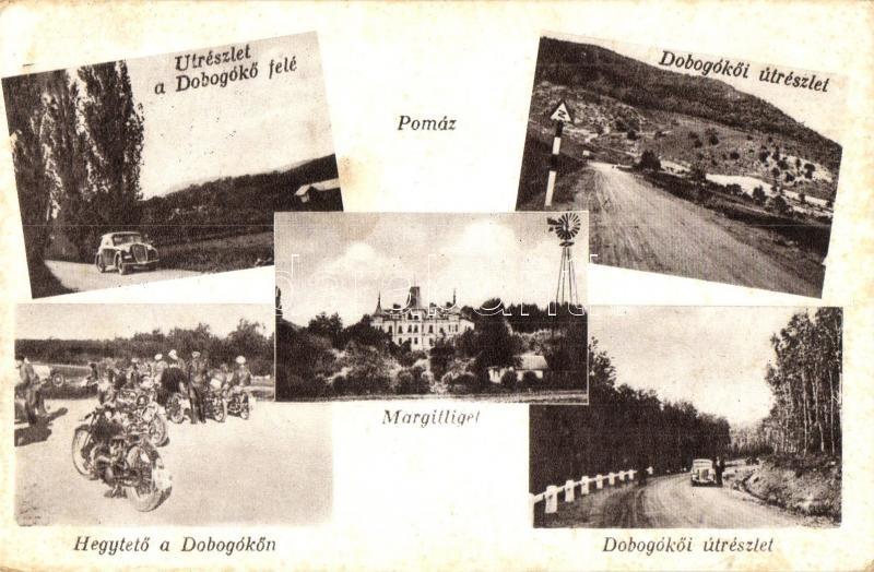 Pomáz, Margitliget, Dobogókő, kiadja Grószeibl Gusztáv