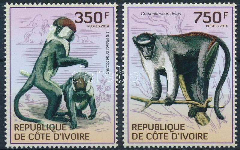 Monkey 2 stamps, Majom sor 2 értéke