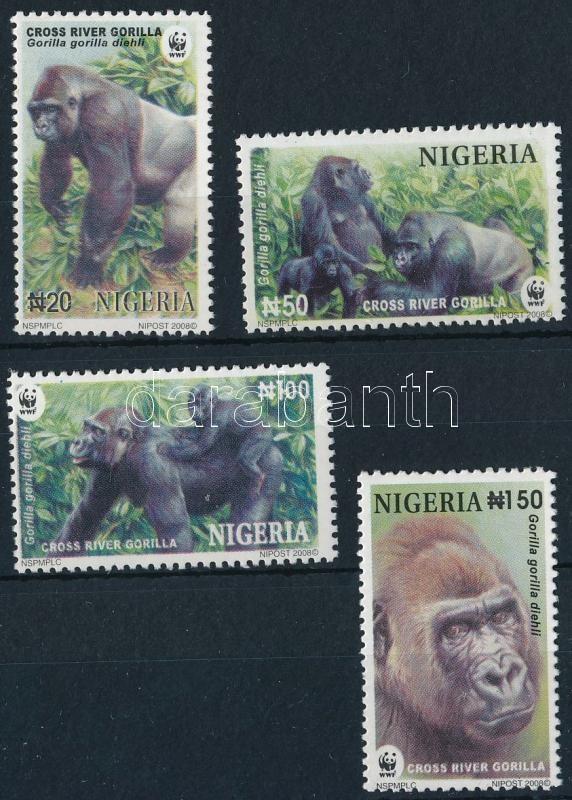 WWF Gorillas set, WWF: Gorilla sor