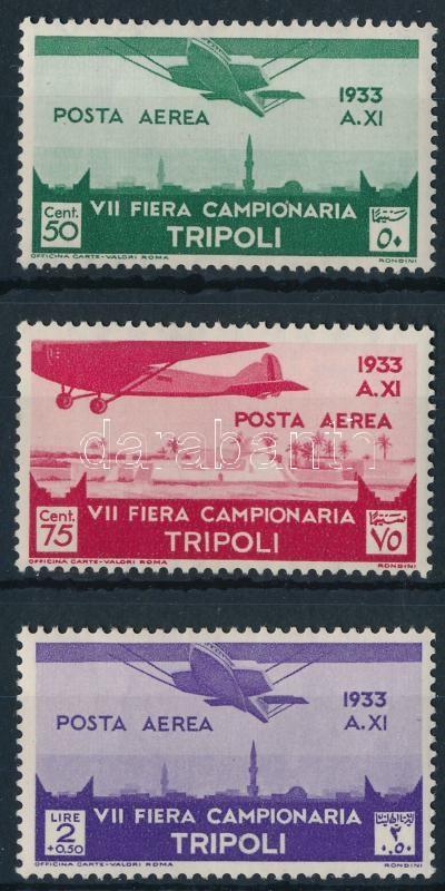 Airmail values, Repülő értékek