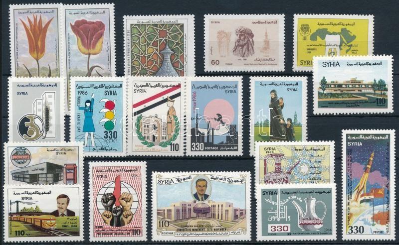 18 diff stamps, 18 klf bélyeg