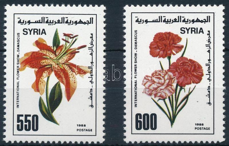 Flowers set, Virág sor