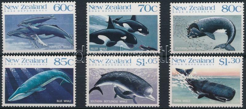 Protection of marine mammals set, Tengeri állatok sor