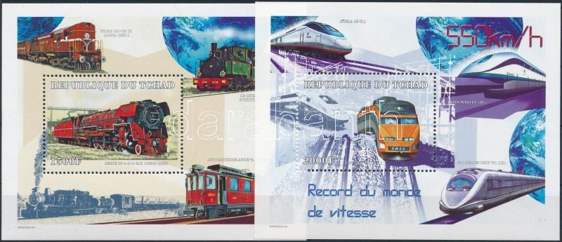 Trains block set, Vonatok a világ minden tájáról blokksor