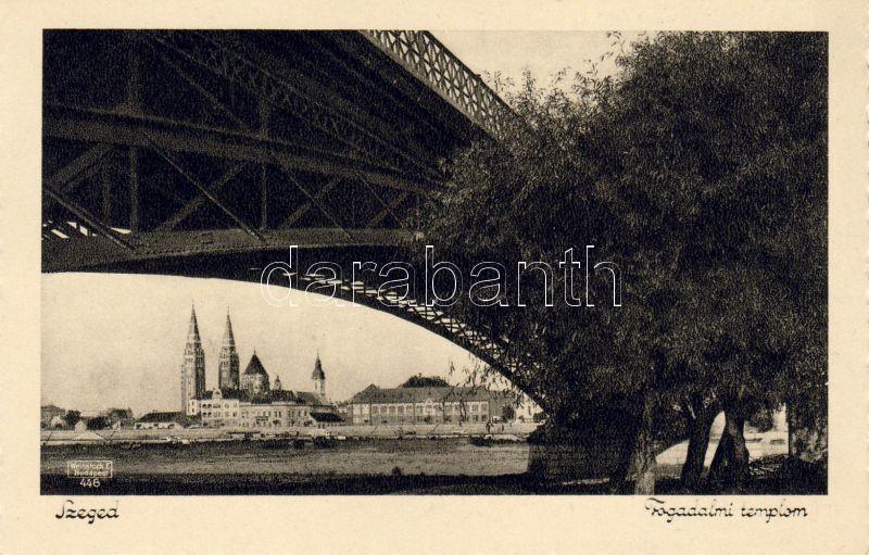 Szeged, Fogadalmi templom, híd