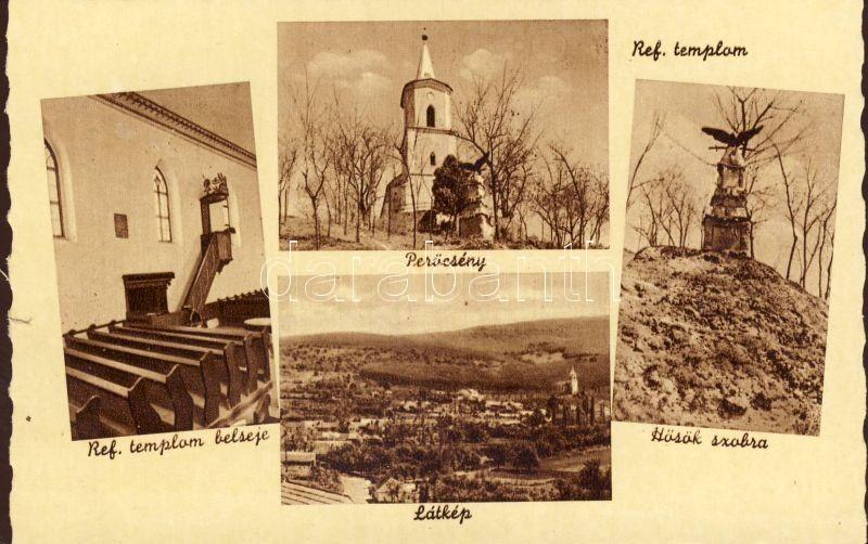 Perőcsény, Református templom, belső
