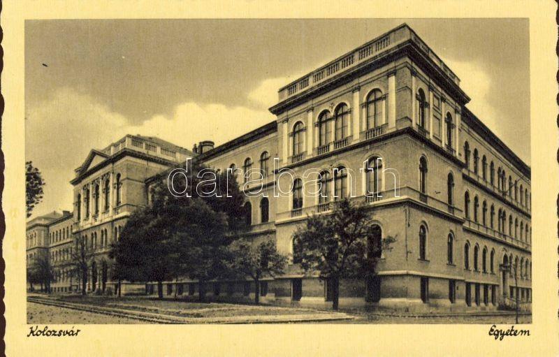 Cluj-Napoca, University, Kolozsvár, egyetem