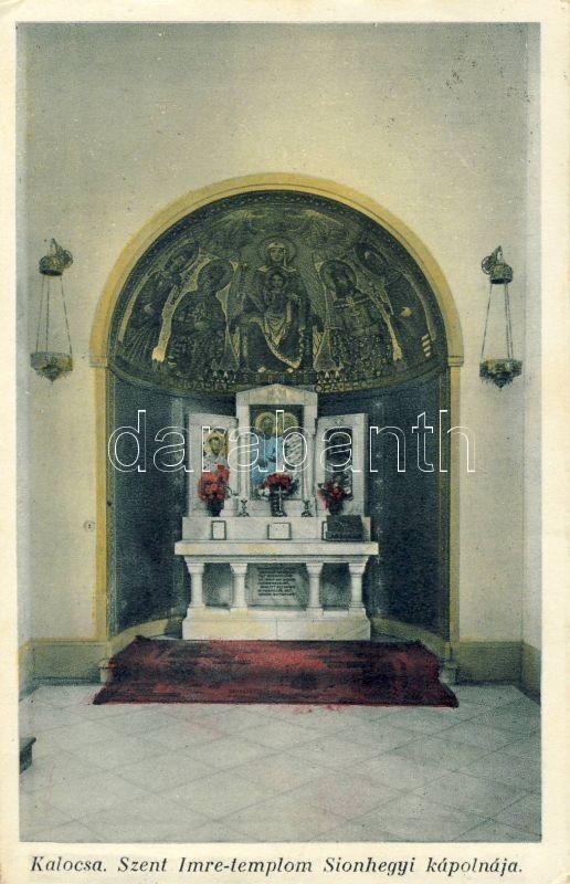 Kalocsa, Szent Imre templom Sionhegyi kápolnája