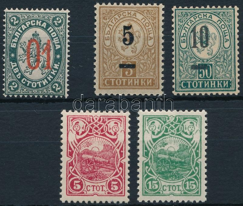 1895-1901 3 issues, 1895-1901 3 klf kiadás