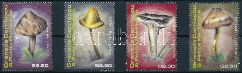 Mushrooms set, Gomba sor