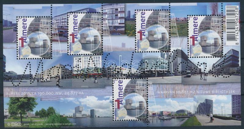 Beautiful Netherlands (XXVIII) mini sheet, Gyönyörű Hollandia (XXVIII) kisív