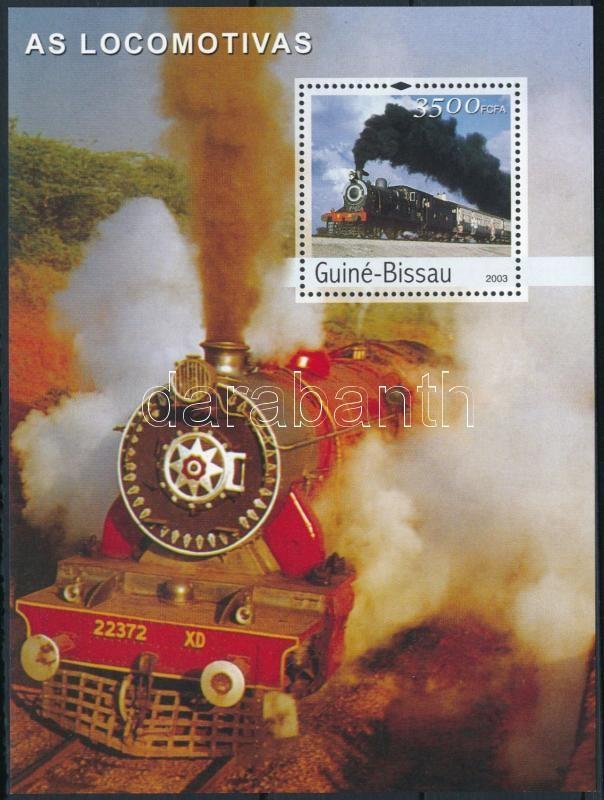 Locomotives block, Mozdonyok blokk