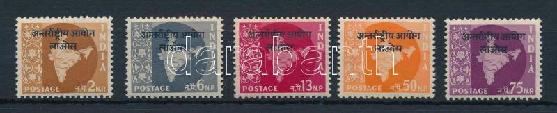 Official stamps for Indian police forces residing in Laos set, Hivatalos bélyegek a Laoszban tartózkodó indiai rendőri erők részére sor