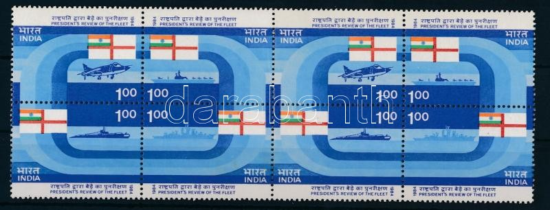 Presidential fleet 2 sets block of 8, Elnöki flotta 2 sor nyolcastömbben