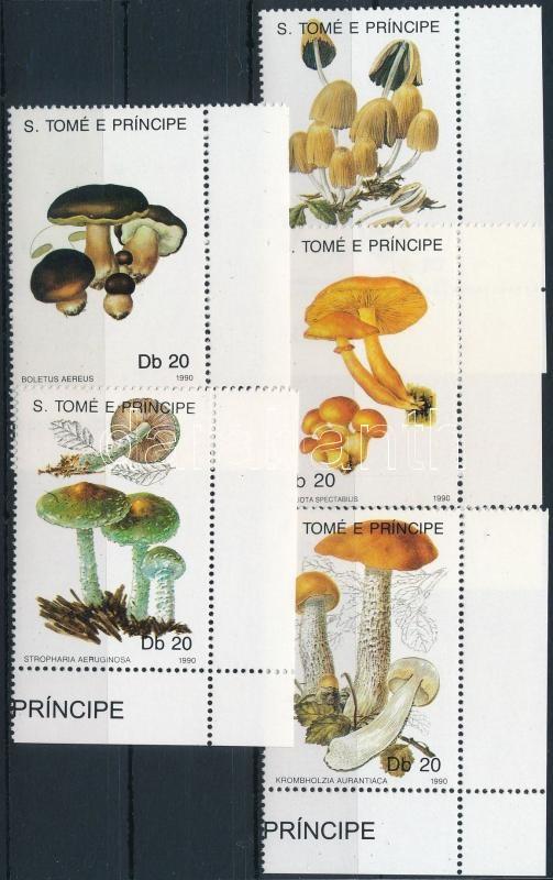 Gomba ívsarki sor, Mushroom corner set
