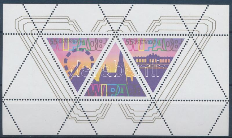Stamp Exhibition WIPA block, Bélyegkiállítás WIPA blokk